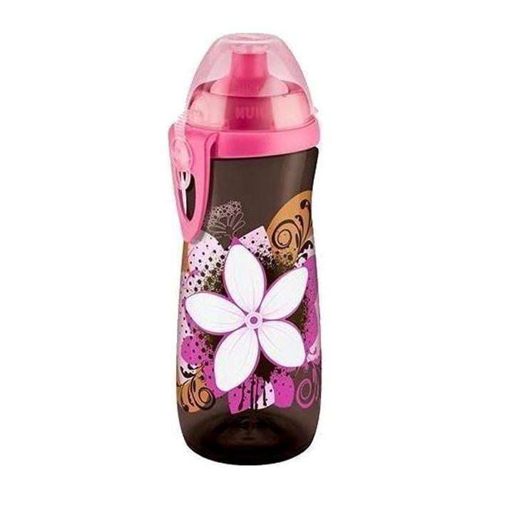 Nuk Sports CupΠαγουράκι Πολυπροπυλενίου BPA Free 450ml – ροζ