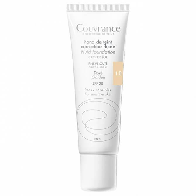 Avene Couvrance Fond te Teint Correcteur Fluide Spf 20 Υγρό Διορθωτικό Make-up30ml – Porcelaine (1.0)