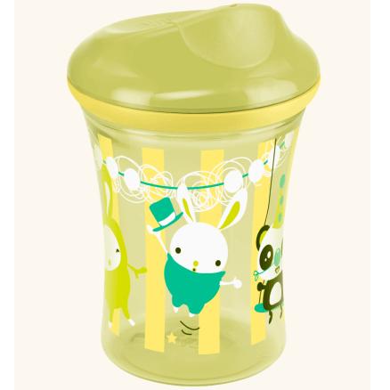 Nuk Easy Learning Vario Cup 3 Εκπαιδευτικό Ποτηράκι (12+) – πράσινο