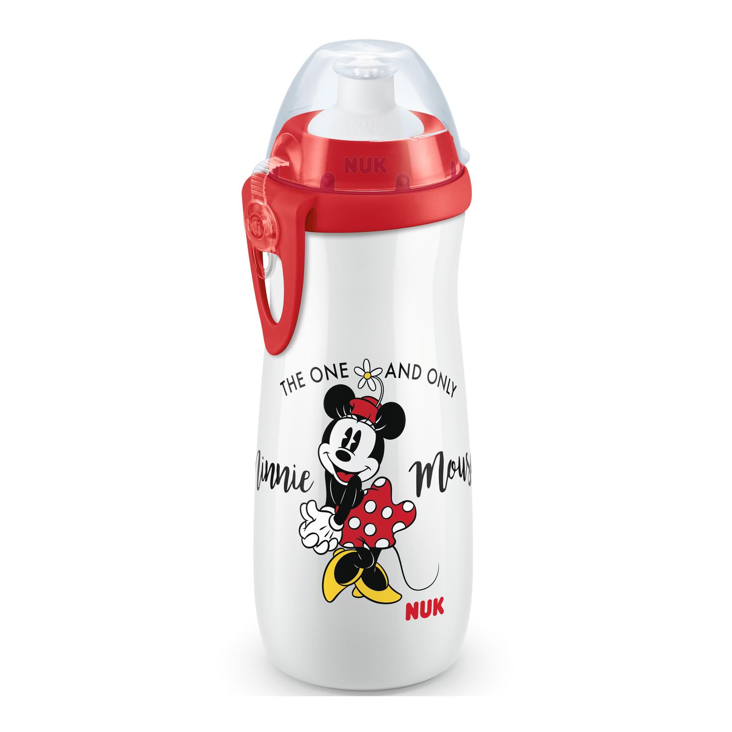 Nuk Sports Cup Mickey Παγουράκι Πολυπροπυλενίου BPA Free 450ml – κόκκινο