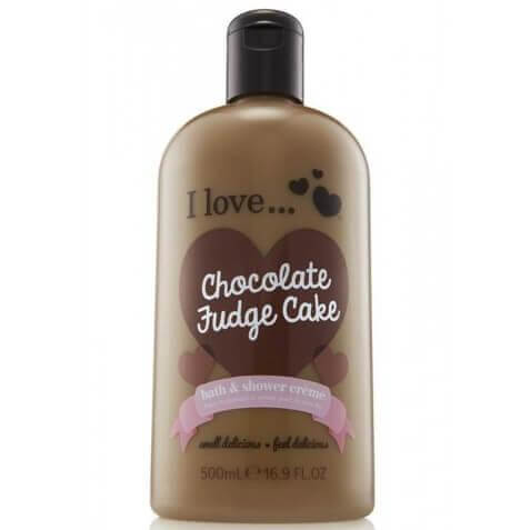 I love… Bath & Shower Creme Ενυδατικό Αφρόλουτρο 500ml – Chocolate Fudge Cake