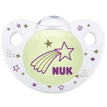 Nuk Night & Day Πιπίλα Σιλικόνης 1τμχ – Ροζ2 0-6Μηνών