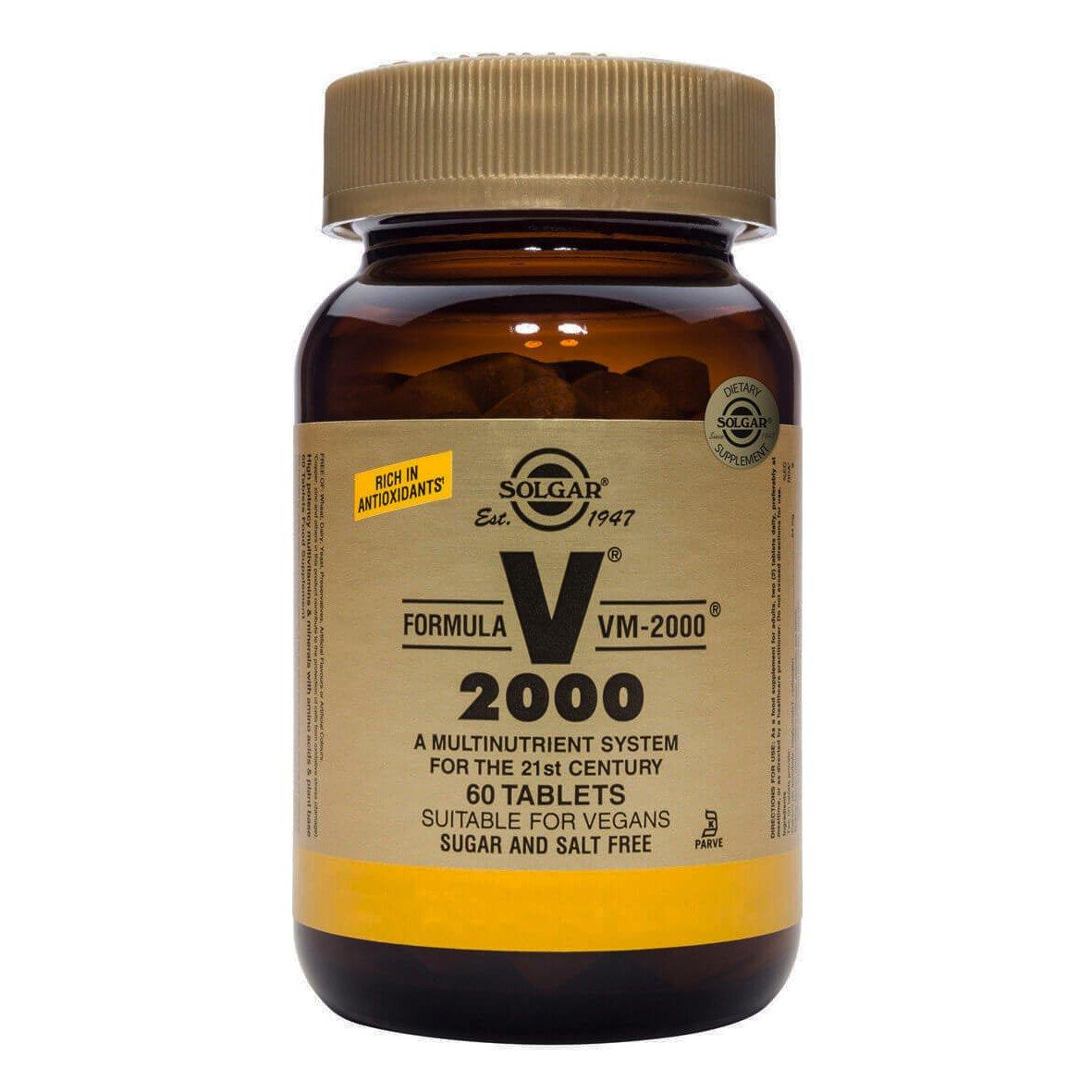 Solgar Formula VM-2000 Πολυβιταμίνες Tabs – 60 tabs