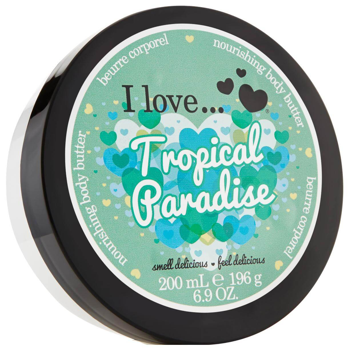 I love… Nourishing Body Butter Θρεπτικό Βούτυρο Σώματος 200ml – Tropical Paradise