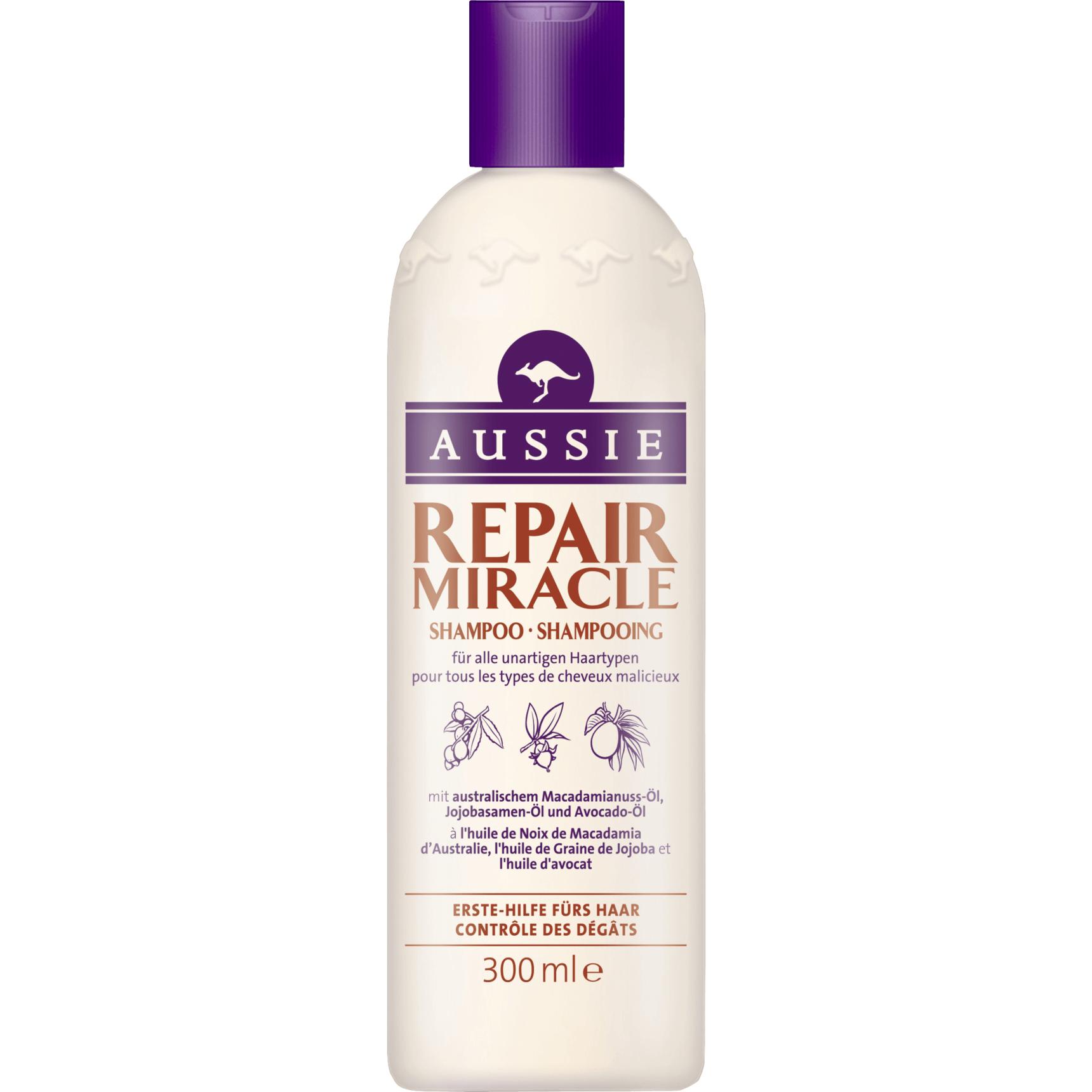 Aussie Repair Miracle Shampoo Damage Control Σαμπουάν για Ατίθασα Μαλλιά 300ml