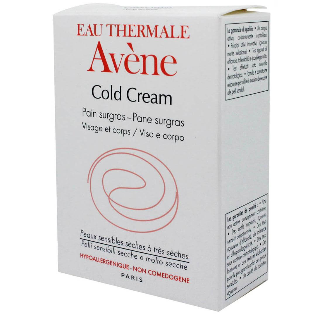 Avène Cold Cream Pain Surgras Στερεό Σαπούνι για Πρόσωπο Σώμα 100g