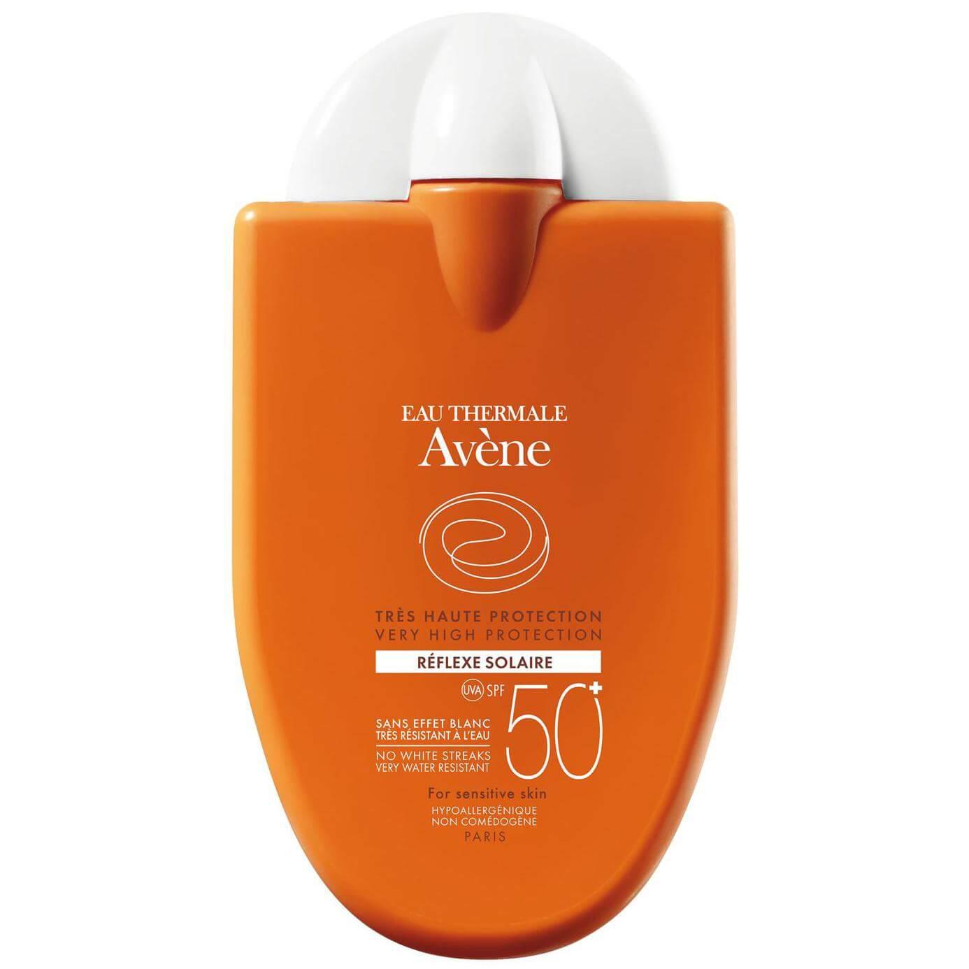 Avene Reflexe Solaire Dry Touch Spf50+ Πολύ Υψηλή Αντηλιακή Προστασία Προσώπου, για Φωτοευαίσθητα Δέρματα 30ml