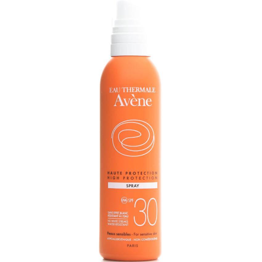 Avene High Protection Spray Spf30 Υψηλή Αντηλιακή Προστασία Του Ευαίσθητου Δέρματος Πρόσωπου Σώματος 200ml
