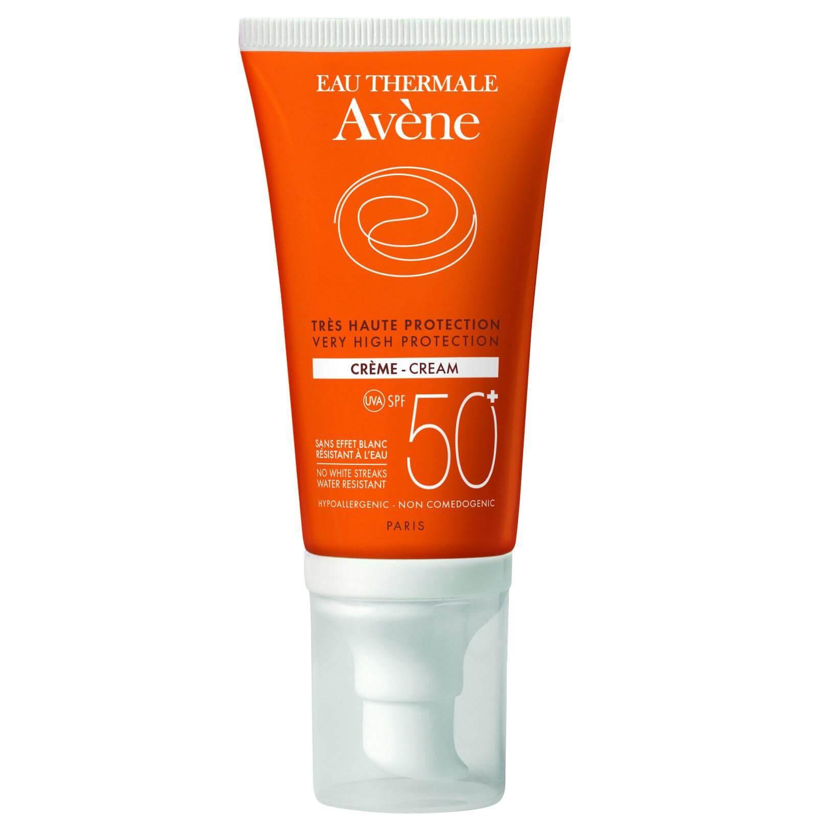 Avene Very High Protection Creme Spf50+ Αντηλιακή Κρέμα Προσώπου Πολύ Υψηλής Προστασίας 50ml – Χωρίς άρωμα