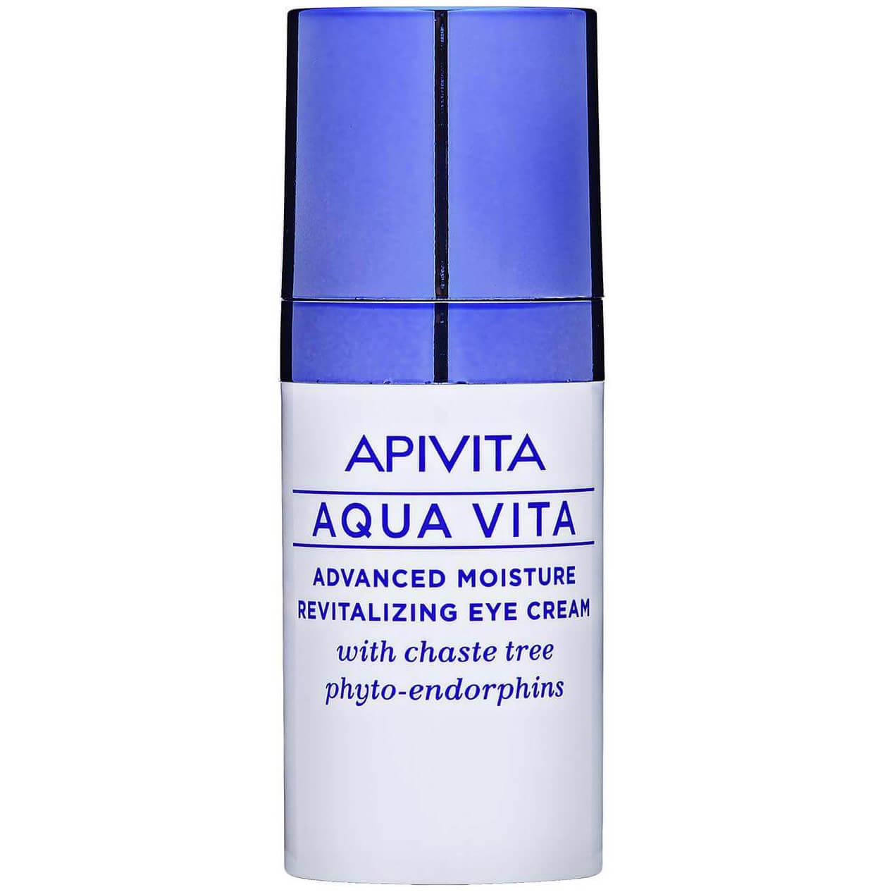 Apivita Aqua Vita Κρέμα Εντατικής Ενυδάτωσης & Αναζωογόνησης Ματιών με Φυτοενδορ ομορφιά   φροντίδα ματιών   ενυδάτωση και λάμψη ματιών