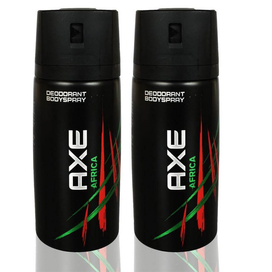 Axe Αποσμητικό Spray Africa 2 x 150ml Πακέτο 1+1