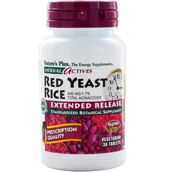 Natures Plus Extended Red Yeast Rice 600 MgΣυμπλήρωμα Διατροφής για την Προστασία του ΚαρδιαγγειακούΣυστήματος30 Mini tabs