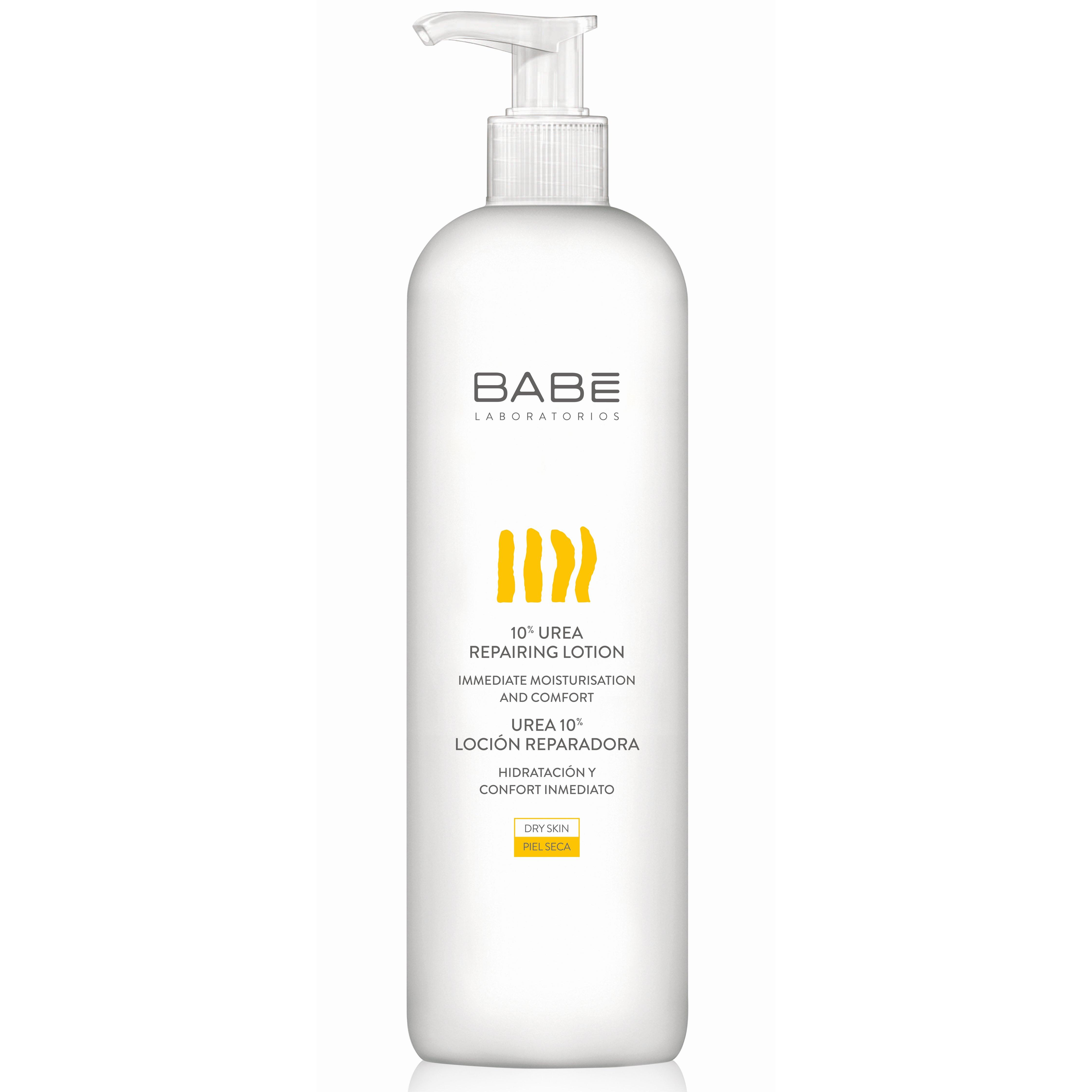 Babe Body 10% Urea Repairing Lotion Επανορθωτικό Γαλάκτωμα Σώματος Εντατικής Ενυδάτωσης για Ξηρή, Πολύ Ξηρή Επιδερμίδα 500ml
