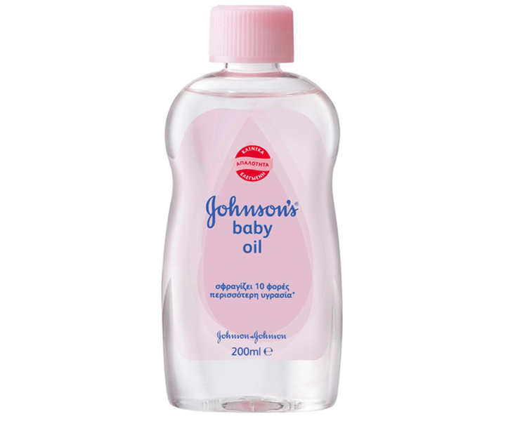 Johnsons Baby Oil Regular Απαλό Λάδι που Ενυδατώνει την Ευαίσθητη Επιδερμίδα 200ml