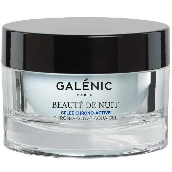 Galenic Beaute de Nuit Gelée Chrono-Active Χρονο-Ενεργό Ζελ Νυκτός για Ανανέωση & Ενυδάτωση Καθόλη τη Διάρκεια της Νύχτας 50ml