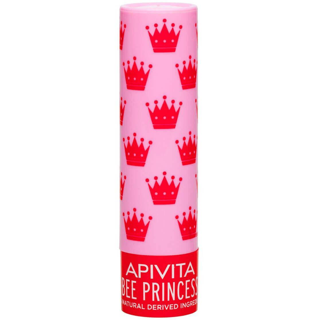 Apivita Lip Care Bee Princess Bio Eco Ενυδατικό Lip Balm Χειλιών με Βιολογικό Βερίκοκο & Βιταμίνες 4.4g