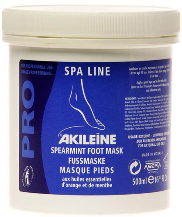Vican Akileine Foot Mask Επαγγελματική Μάσκα Εντατικής Περιποίησης Ποδιών 500ml