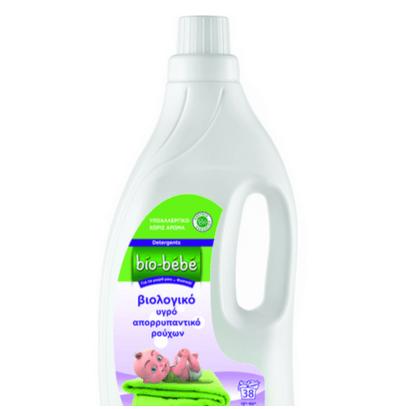 Bio Bebe Βιολογικό Υγρό Απορρυπαντικό Ρούχων για την Ευαίσθητη Βρεφική Επιδερμίδα – 1.55lt