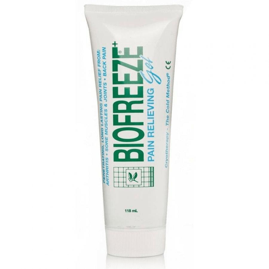 Biofreeze Αναλγητικό gel για Μυϊκούς και Σωματικούς Πόνους, με τα Οφέλη της Κρυοθεραπείας 118ml