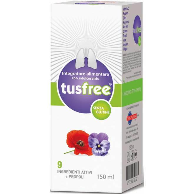 Bionat TusFree Σιρόπι για τον Ξηρό & Παραγωγικό Βήχα 150ml