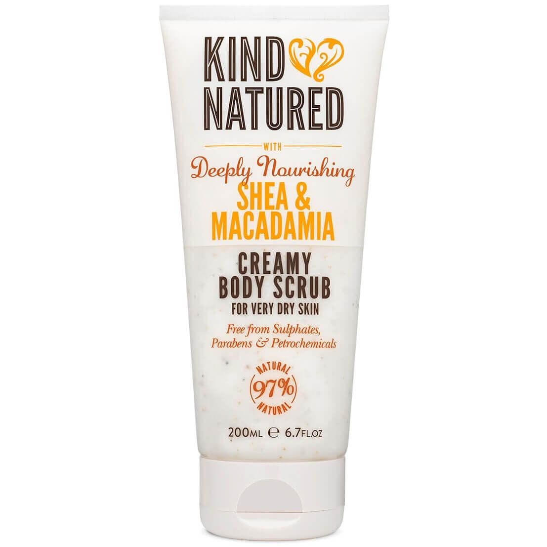 Kind Natured Deeply Nourishing Shea & Macadamia Creamy Body Scrub για Πολύ Ξηρή Επιδερμίδα 200ml