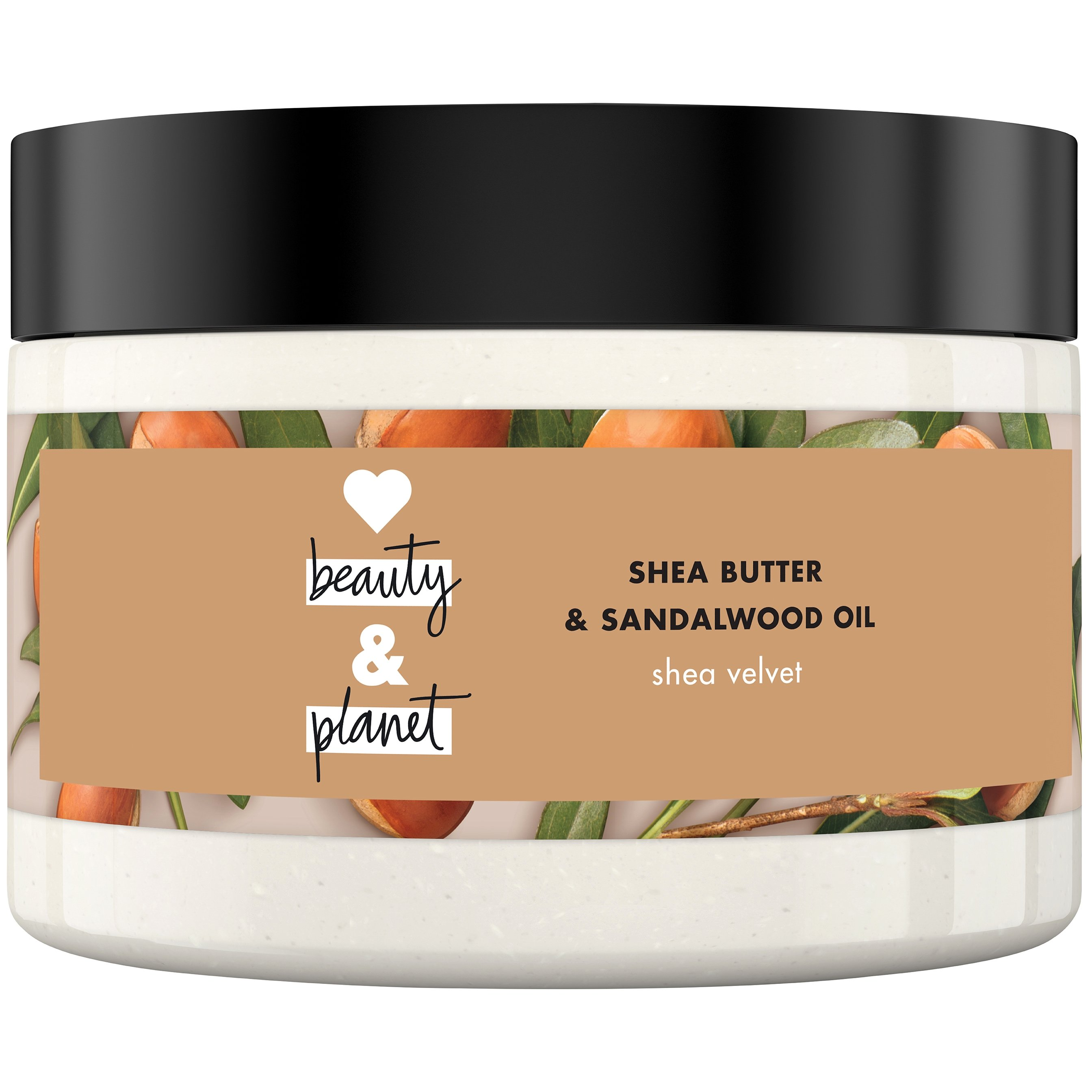 Love Beauty and Planet Body Butter Shea Butter & Sandalwod Oil, Κρέμα Σώματος 250ml