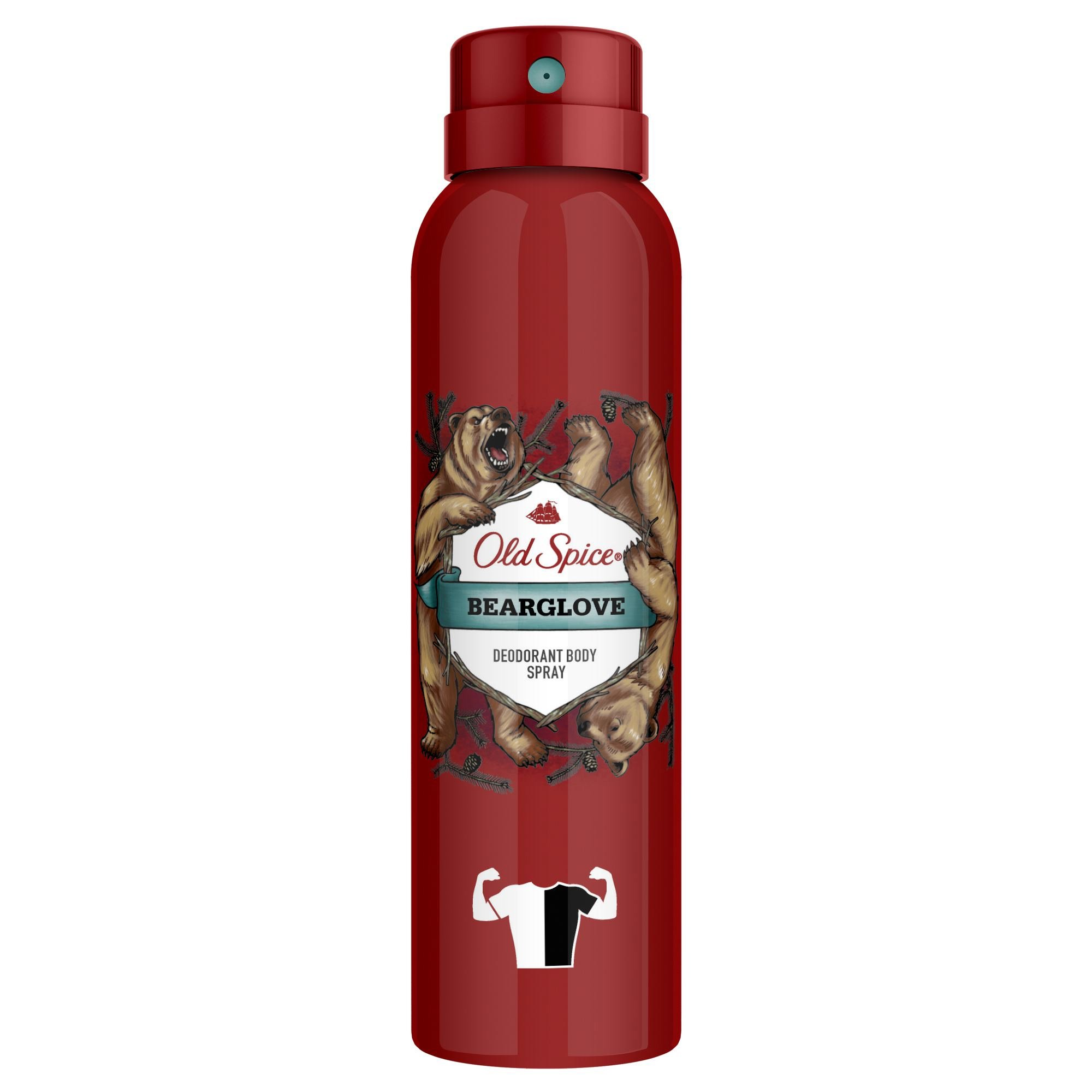 Old Spice Bearglove Body Spray Αποσμητικό Spray Σώματος 150ml