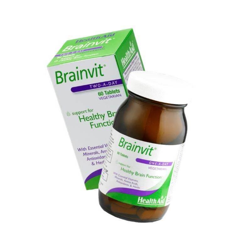 Health Aid Brainvit Oμαλή Ροή Του Αίματος Στον Εγκέφαλο tabs60