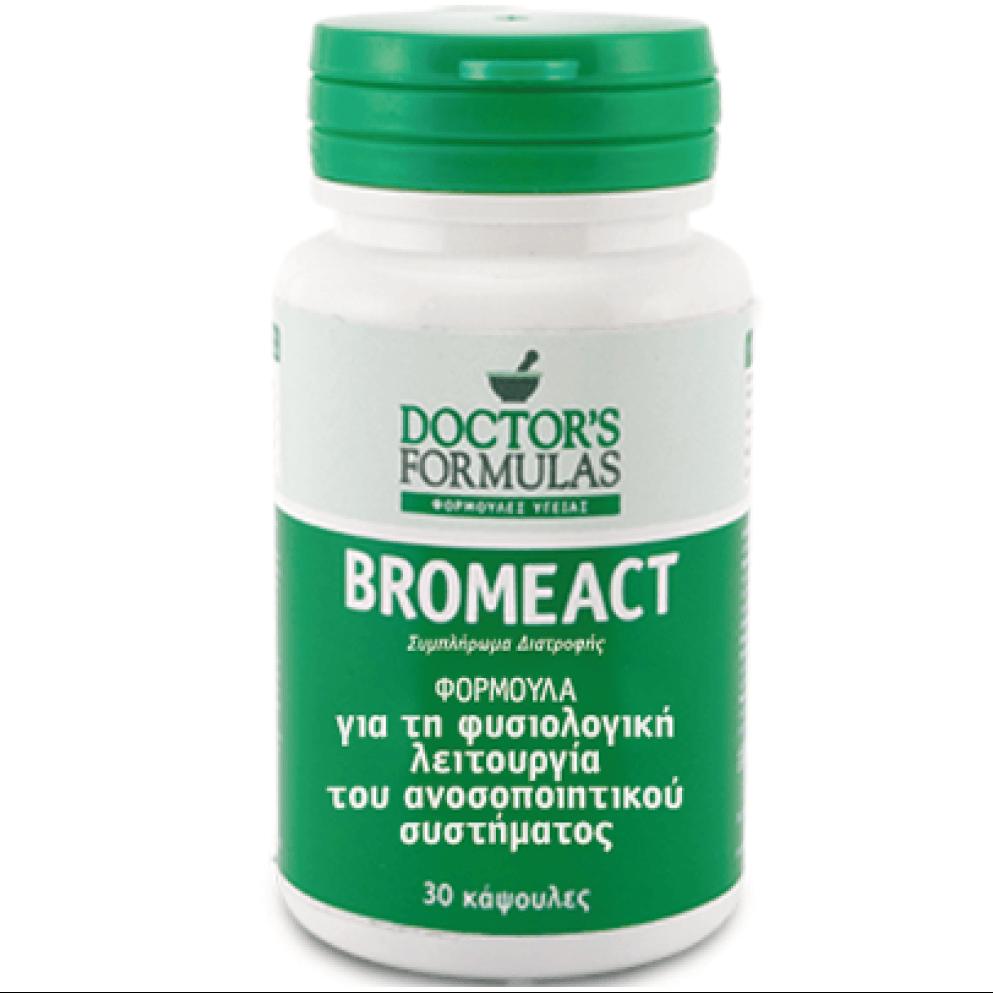 DoctorS Formulas Bromeact Βρομελίνη 30Caps