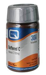 Quest Buffered C 700mg Calcium Ascorbate Βιταμίνη C Σε Εστερική Μορφή 30tabs