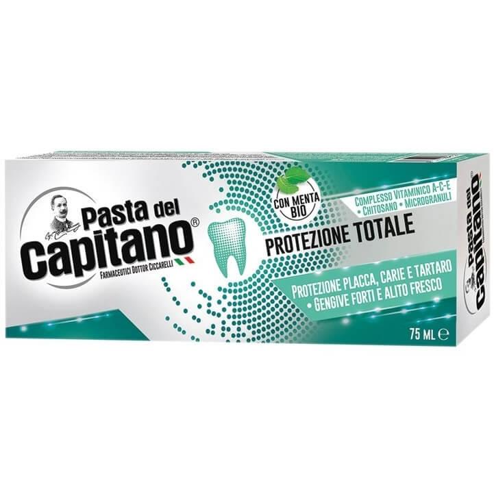 Pasta Del Capitano Οδοντόκρεμα Ολοκληρωμένης Προστασίας με Οργανική Μέντα 75ml