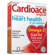 Vitabiotics Cardioace Για Την Υγεία Της Καρδιάς 30caps