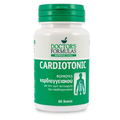 Doctors Formulas Cardiotonic Για την Υγεία και τη Προστασία της Καρδιάς 60 caps