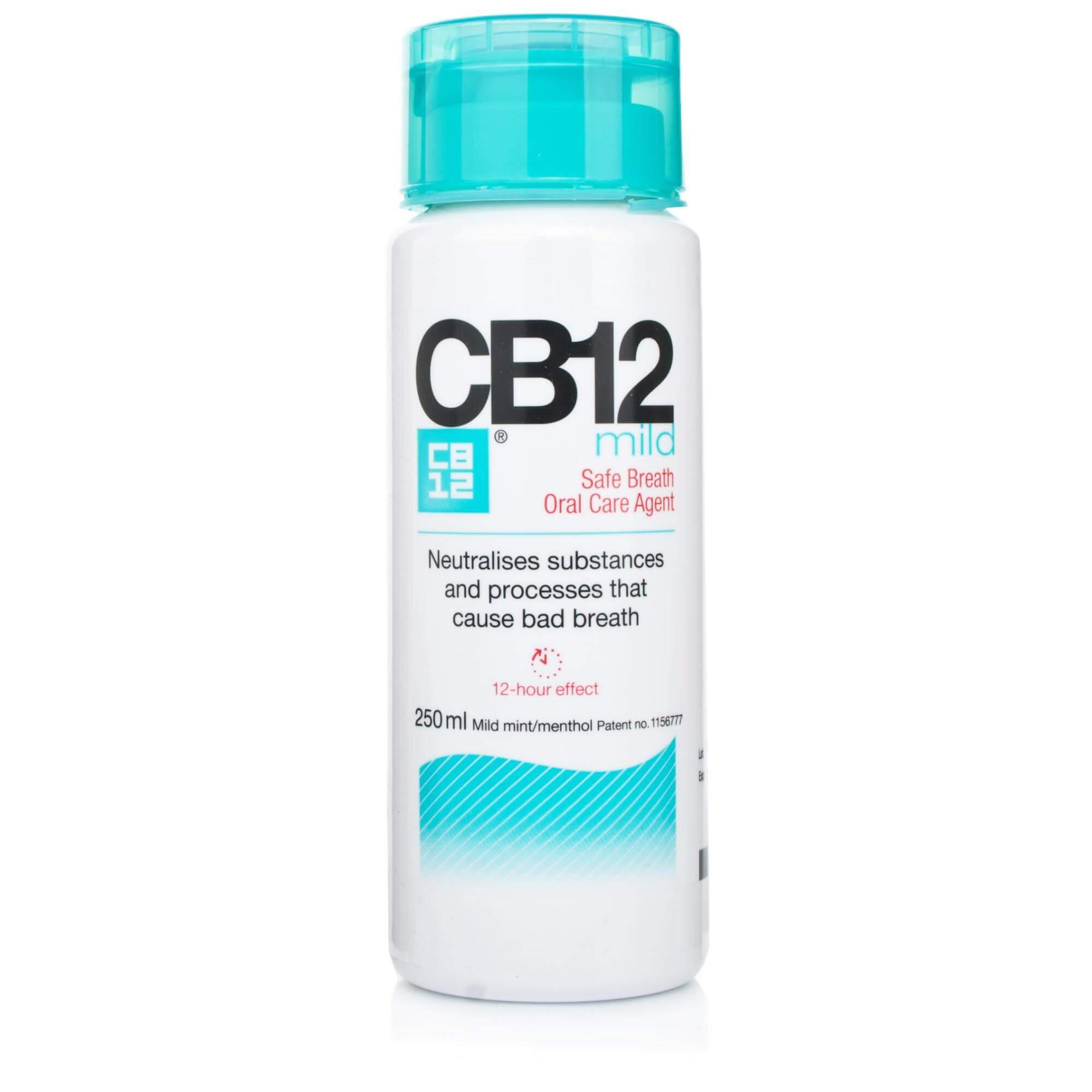 CB12 Στοματικό Διάλυμα για Ασφαλή Αναπνοή με Ήπια Γεύση Mild 250 ml