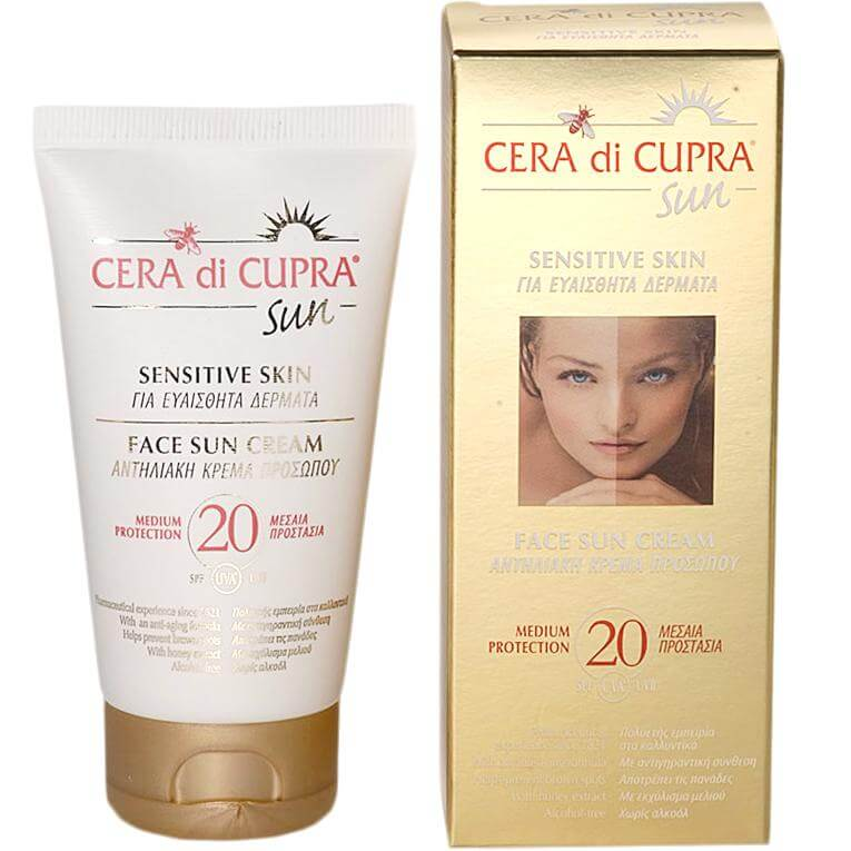 Cera Di Cupra Αντηλιακή Κρέμα Προσώπου Spf20 75ml