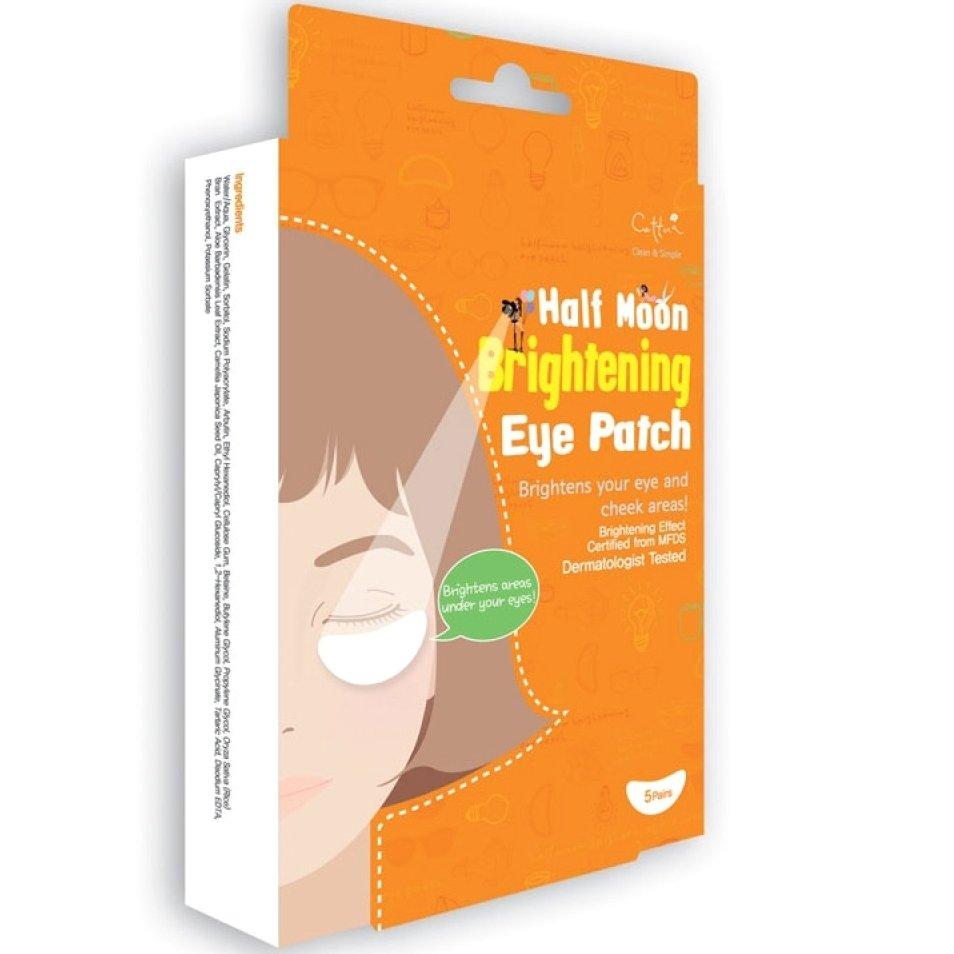 Vican Cettua Clean & Simple Half Moon Brightening Eye Patch Επιθέματα που Απαλύνουν τους Μαύρους Κύκλους, 5τμχ