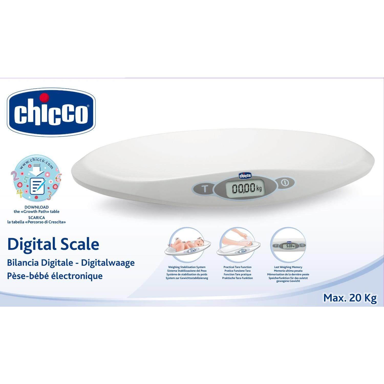 Chicco Βρεφική Ψηφιακή Ηλεκτρονική Ζυγαριά Baby Scale