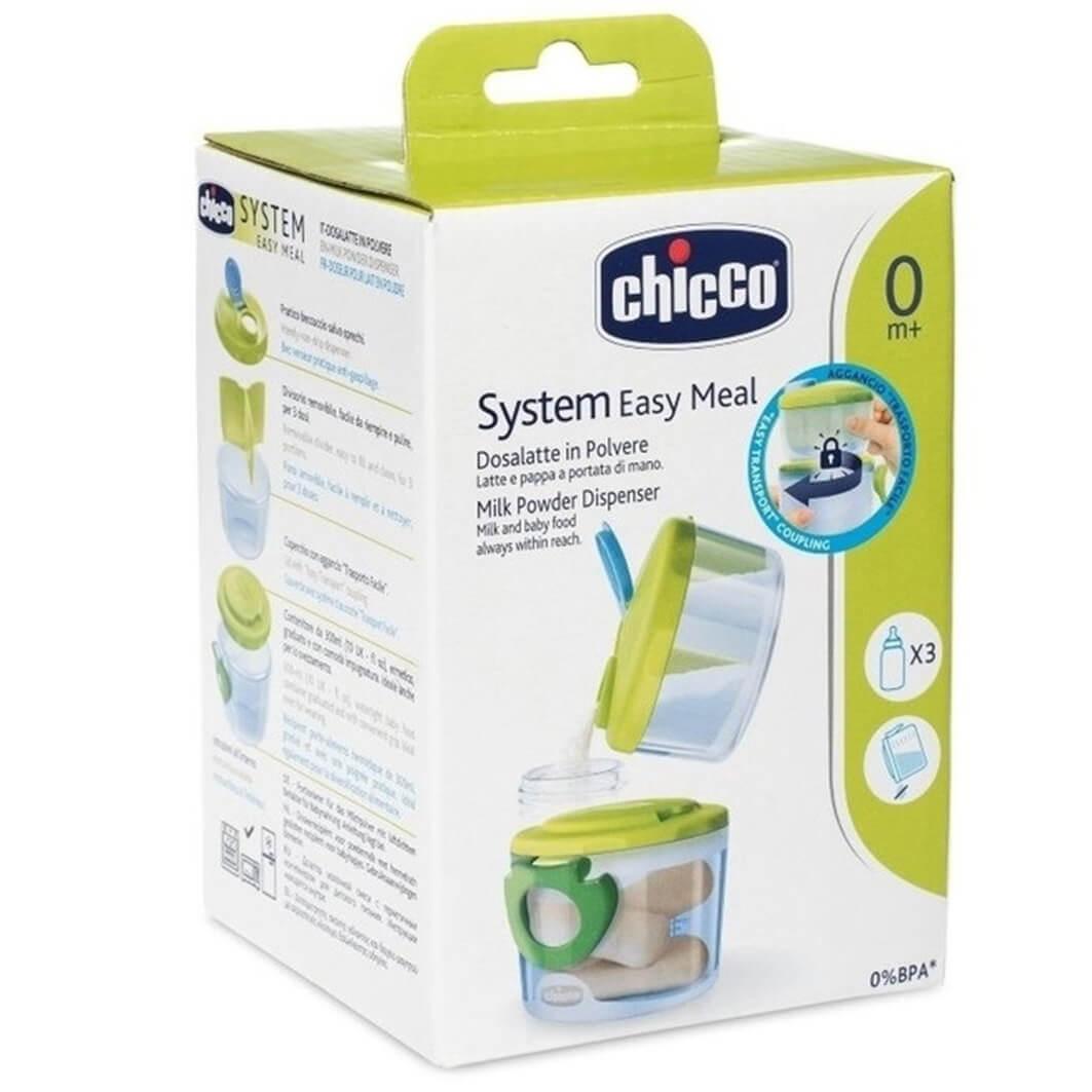 Chicco System Easy Meal Milk Powder Dispenser Δοσομετρητής Σκόνης Γάλακτος 0M+