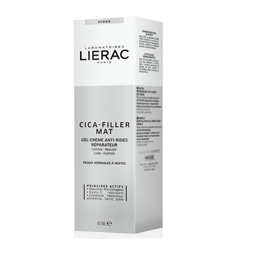 Lierac Cica – Filler Mat Gel – Creme Συσφίγει τους Πόρους και Χαρίζει ματ Όψη 40ml