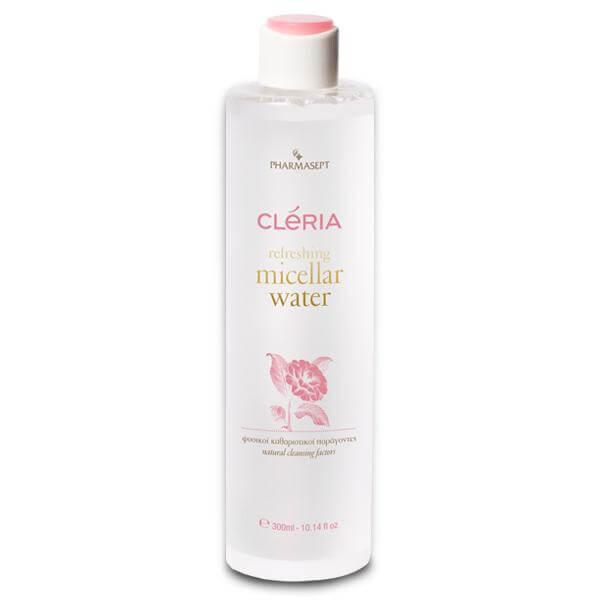 Pharmasept Cleria Refreshing Micellar Water Νερό Ντεμακιγιάζ για Πρόσωπο & Μάτια, Φυσικοί Καθαριστικοί Παράγοντες All Skin Τypes – 300ml