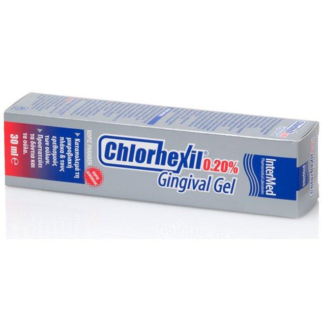 Chlorhexil 0.20% Gingival Gel Αντισηπτική Γέλη για την Αγωγή των Εντοπισμένων Κακώσεων της Στοματικής Κοιλότητας 30ml