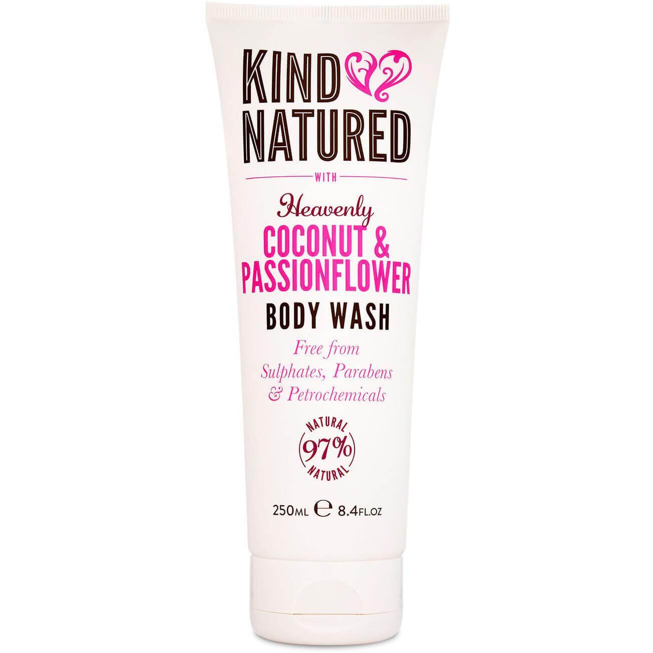 Kind Natured Coconut & PassionflowerBody Wash Αφρόλουτρο με Καρύδα & Λουλούδι του Πάθους 250ml