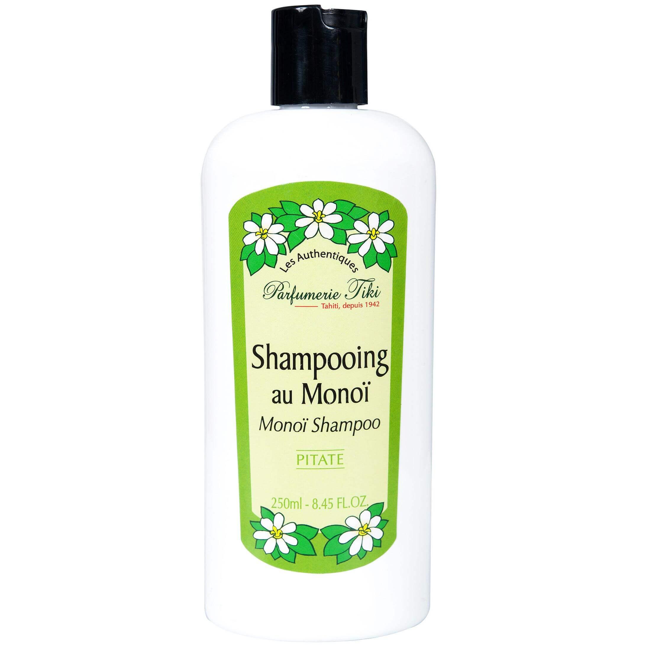 Monoi Tiki Au Monoi Pitate Σαμπουάν για Ξηρά/Κατεστραμμένα Μαλλιά με Άρωμα Γιασεμιού 250ml