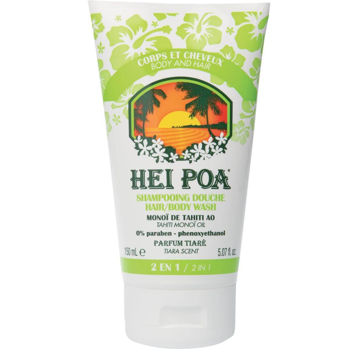 Hei Poa Shampooing DoucheΚαθαριστικόγια Σώμα &Μαλλιά με Άρωμα Tiare150ml