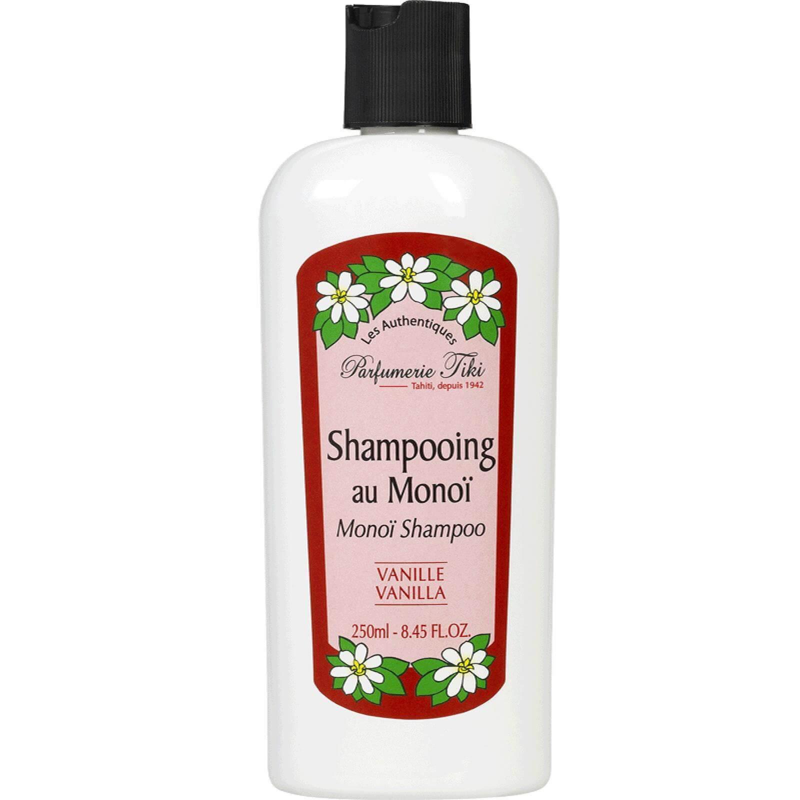 Monoi TikiShampooing Au Monoi Σαμπουάνγια Ξηρά/Κατεστραμμένα Μαλλιάμε Άρωμα Βανίλιας 250ml