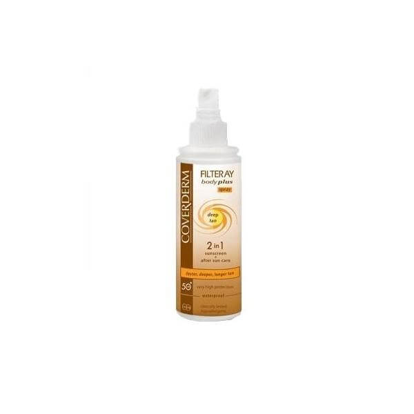 Coverdern Filteray Body Plus Deep Tan Spray Spf30 Επιταχύνει το Μαύρισμα 100ml