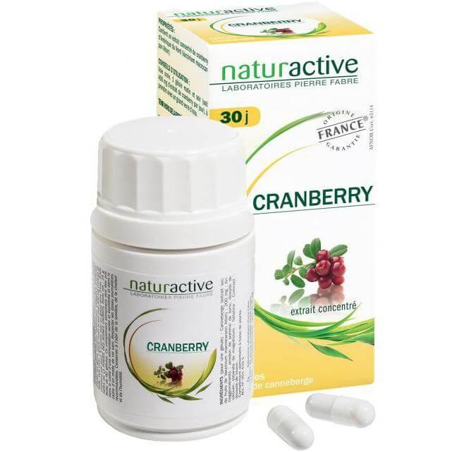 Naturactive Cranberry Συμπλήρωμα Διατροφής με Κράνμπερυ για την Πρόληψη Ουρολοιμώξεων60caps