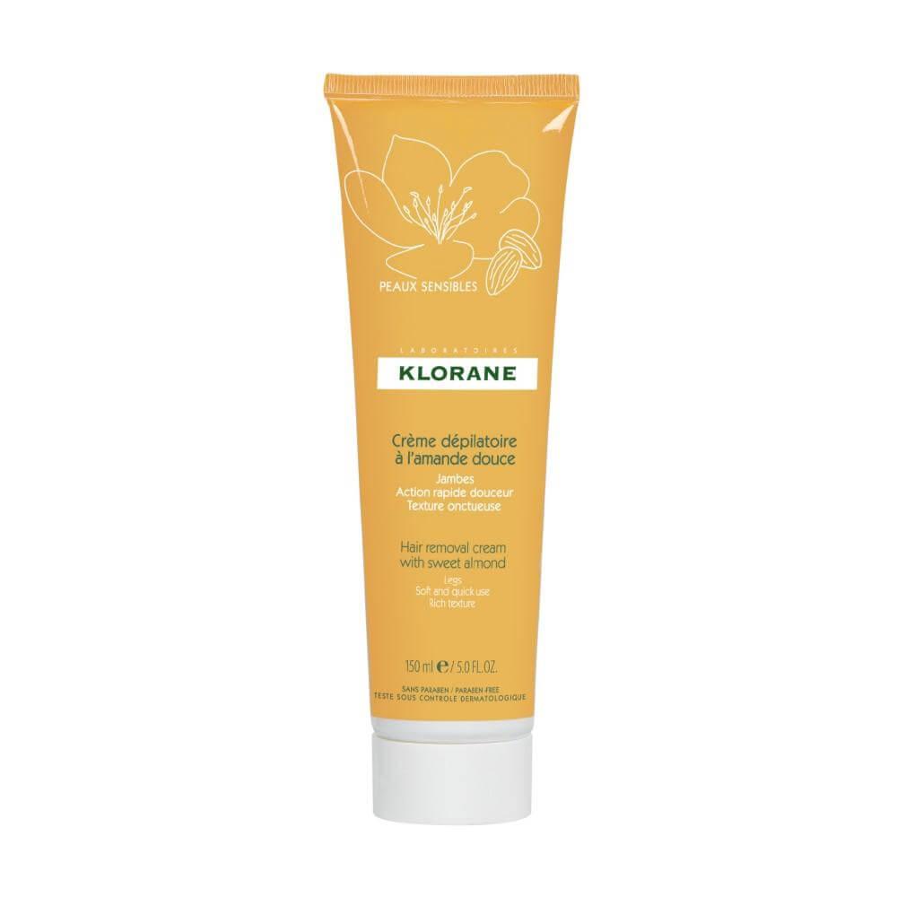 Klorane Creme Depilatoire Απαλή Αποτριχωτική Κρέμα που Αφαιρεί Αποτελεσματικά την Τρίχα με Απόλυτο Σεβασμό στο Δέρμα σας 150ml