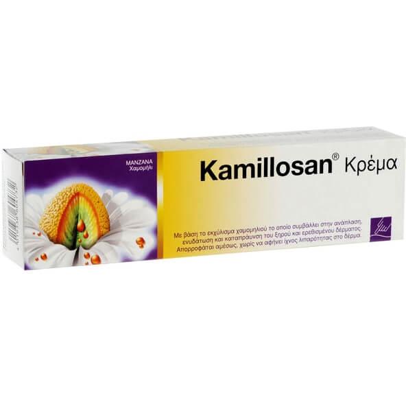 Mylan Kamillosan Cream Κρέμα με Βάση το Εκχύλισμα Χαμομηλιού για την Ανάπλαση Ενυδάτωση Καταπράυνση του Ξηρού Δέρματος 40gr