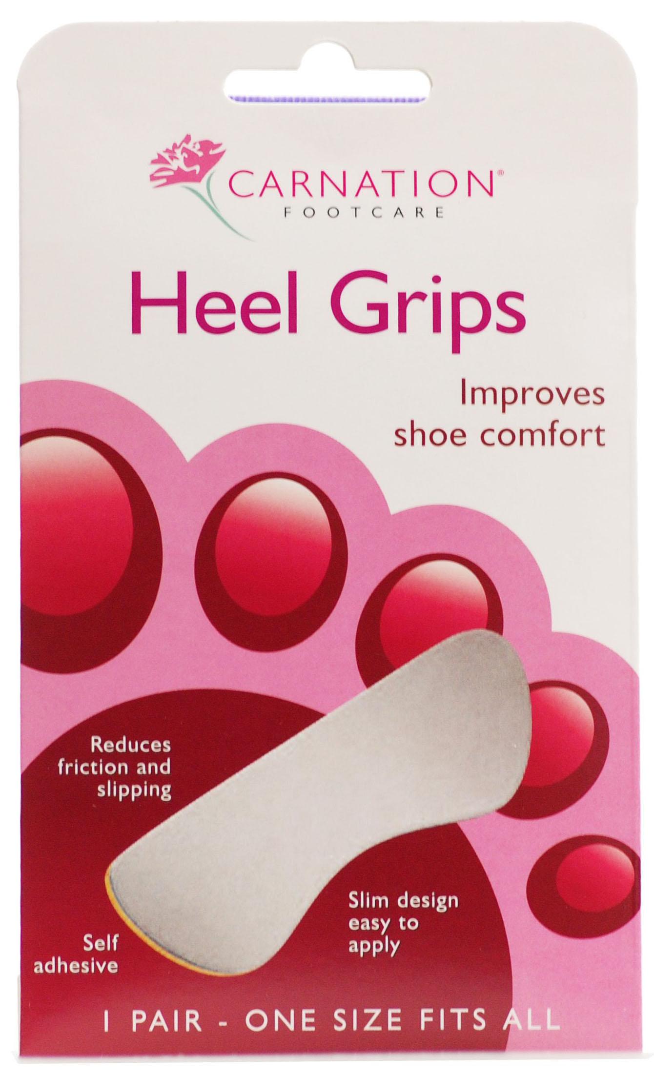 Vican Carnation Heel Grips Αυτοκόλλητα Προστατευτικά 1pair/2τμχ υγιεινή   πόδια   προστατευτικά   επιθέματα ποδιών
